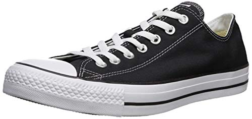 Converse Unisex Chuck Taylor All Star Low Top Black Sneakers - 10 D(M) US