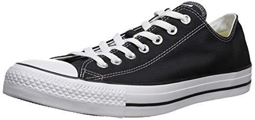 Converse Unisex Chuck Taylor All Star Low Top Black Sneakers - 4 Men 6 Women