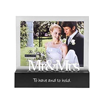 Amazon Mud Pie Wedding Of All The Walks Picture Frame Home