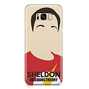 Samsung S8 Plus Case SHELDON Tv Show Samsung Samsung S8 Plus Cover Wrap AroundLight weight and tough case