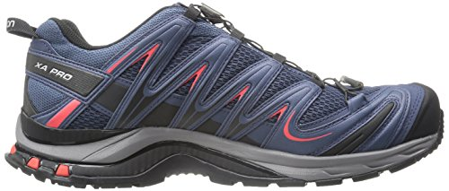 Salomon L37920800, Zapatillas de Trail Running para Hombre Azul (Slateblue /     Detroit /     Radiant Red)