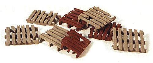 - Durango Press HO Scale Model Railroad Detail Parts - Pallets (8-Pack)