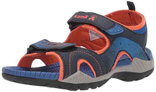 Kamik Boys' Dune Sandal Navy 2 M US Little Kid