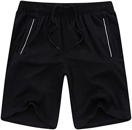 Men's Summer Casual Loose Fit Relaxed Fit Elastic Waist Running Athletics Short Pants