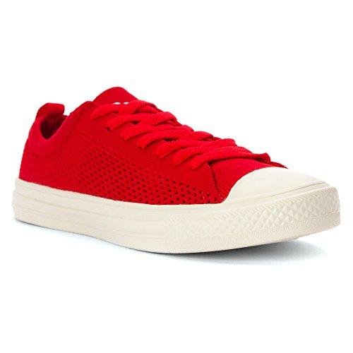 People Footwear - Zapatillas para hombre multicolor Negro y blanco Supreme Red/Picket White