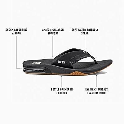 Reef Fanning Mens Sandals   Bottle Opener Flip Flops For Men