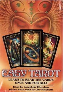 Easy Tarot deck & book by Ellershaw/ Marchetti by Sage Cauldron
