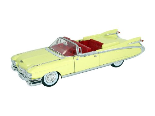 1959 Cadillac Eldorado Biarritz Convertible 1:32 Scale (Yellow)