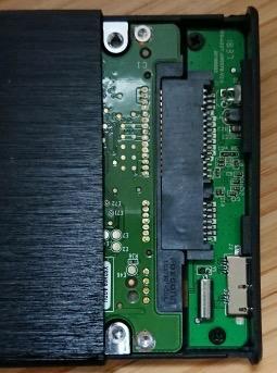 【USB3-0】2-5インチ-ハードディスクケース-7mm厚両対応-ドライブケース-高放熱性アルミ