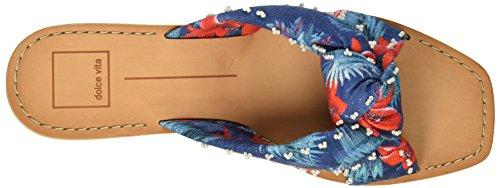 Chaussures Slide Havva Floral Femmes Print Multi Dolce Blue Vita xqSFwtI6