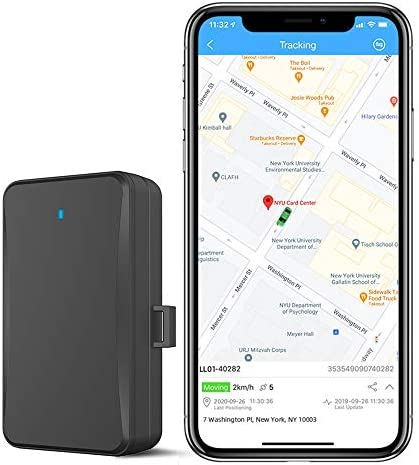 4G Lite 10,000mAh GPS Tracker IP65 Waterproof Hidden Magnetic GPS Tracker Car Tracking Device with Software Real Time Vehicle, Truck, Asset, Elderly, Teenager Tracker-No Platform charges