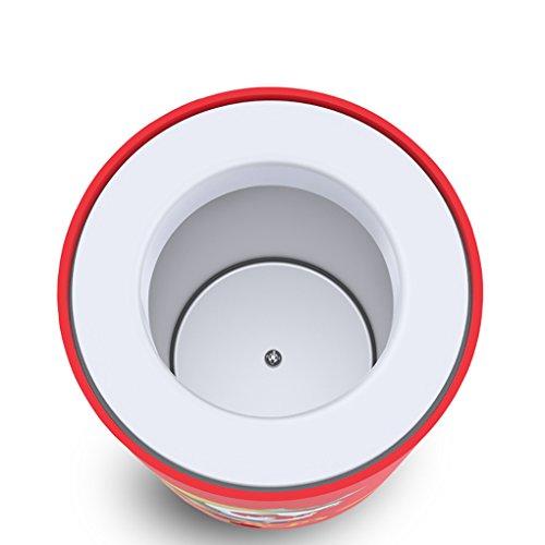 KEMIN USB Fridge Cooler Mini Fridge Use USB Cooler Cup Coffee Tea Car Refrigerator Office Cooler (Red) by KEMIN (Image #3)