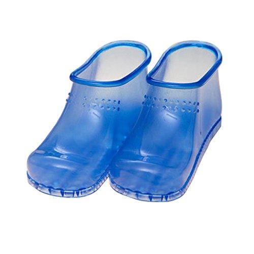 Bagno Estate Pantofole da Indoor dimensioni massaggio Blu Rosso L bagno Calzature da piedi Colore femminile donna ai Scarpe nv4qpzCn
