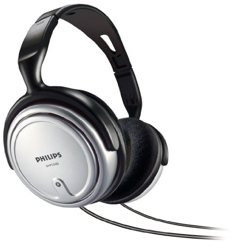 Philips SHP2500/37 Full Size Headphone with Volume Control (Discontinued by (Philips Indoor Corded Tv)