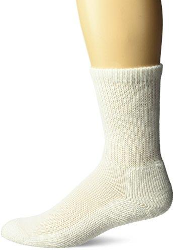 Thorlos Unisex WGX Work Padded Crew Sock, White, ()