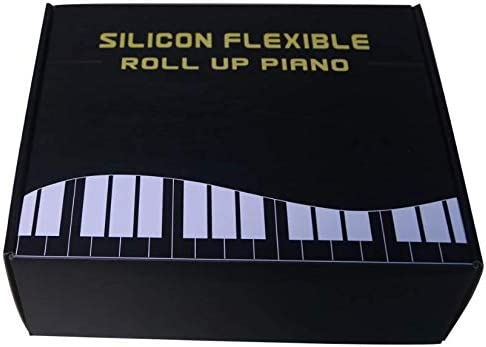PA61 61キーポータブル手巻きピアノMIDIキーキーボードポータブル折りたたみキーボード