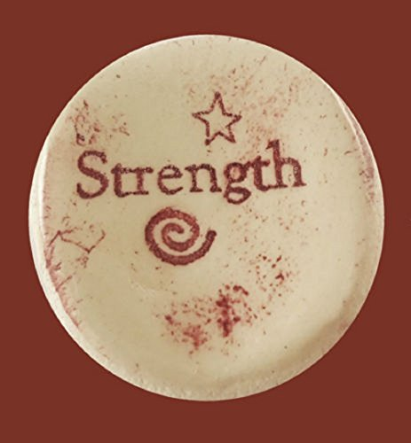 strength-ceramic-word-stone-sold-individually