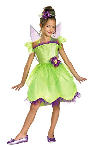 [Deluxe Tinker Bell Rainbow Costume - X-Small] (Tinkerbell Costume Baby Girl)