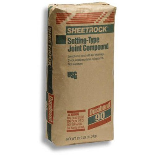 (U S GYPSUM 381630 Sheetrock Setting-Type 85-130 Min 90 Joint Compound, 25 lb)