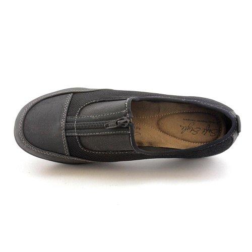 Sneakers Landon Da Donna In Morbido Stile Nero In Finta Pelle Scamosciata / Mesh