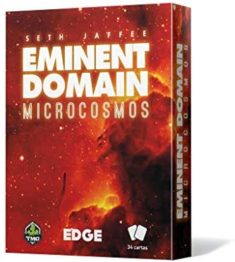Fantasy Flight Games- Eminent Domain Microcosmos - Español, Color Rojo (Edge Entertainment EETMEM01): Amazon.es: Juguetes y juegos