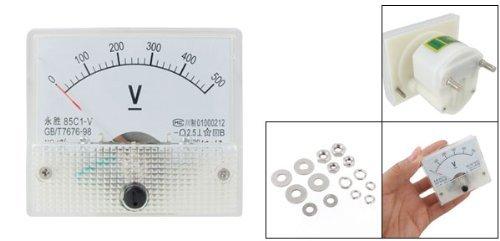 eDealMax 85C1-V DC 0-500V analogique à aiguilles panneau compteur Voltmètre