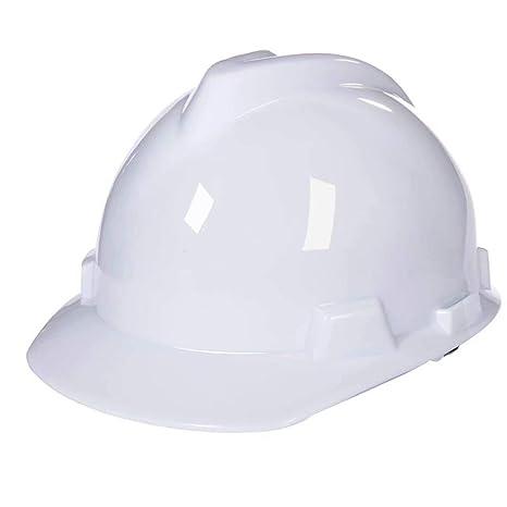 WY-Hard hat Casco Escalada Steeplejack Trabajo Casco de Seguridad Casco con Correa de Barbilla