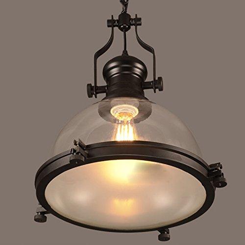 Industrial-Nautical-Transparent-Glass-Pendant-Light-LITFAD-12-Clear-Ceiling-Chandelier-Hanging-Light-Fixture-Max40W
