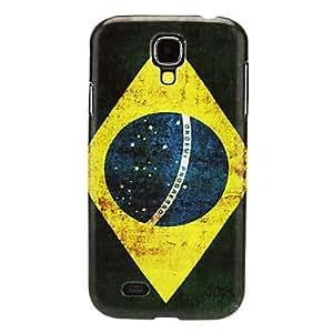 LZX Brazilian Pattern IMD Hard Case for Samsung Galaxy S4 I9500