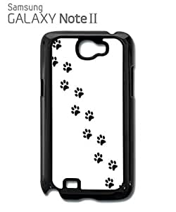 Cat Paw Kitten Meow Mobile Cell Phone Case Samsung Note 2 Black