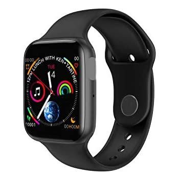 Smart Watch Men Heart Rate Smart Watchfor Women Men,Iwo 8 Plus Black