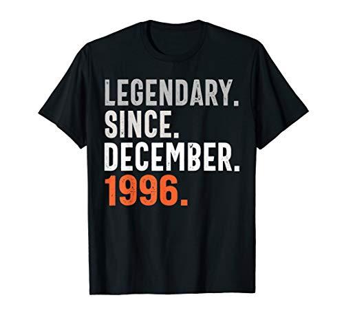 Legendary Since December 1996 Shirt Vintage 1996 - 1996 Serigraph
