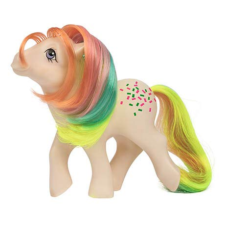 My Little Pony 35277 My Classic Rainbow Ponies-Confetti Collectible, -