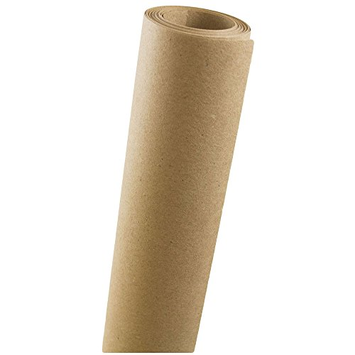 - JAM PAPER Gift Wrap - Kraft Wrapping Paper - 37.5 Sq Ft - Brown Kraft Paper - Roll Sold Individually