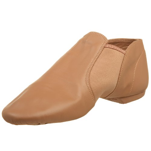 Capezio Stretch Jazz Ankle Shoe Suntan