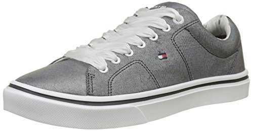 Up Tommy Midnight Femme Light Hilfiger Bleu Metallic Foncé Weight 403 Basses Sneakers Lace Bleu XBrB1wnq