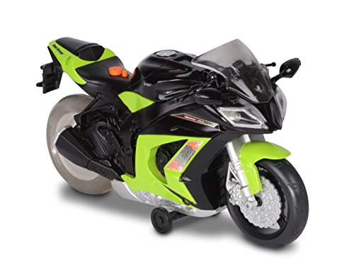 Toy State Road Rippers Wheelie Bikes Kawasaki Ninja ZX-10R Light and Sound Motorcycle
