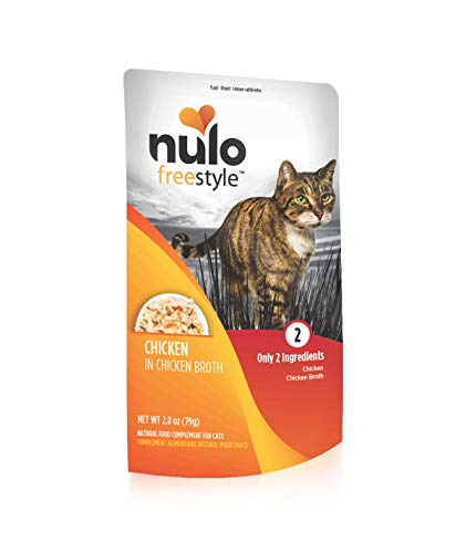 Nulo Freestyle Cat Chicken in Broth 2.8oz Pouch - Case of 24