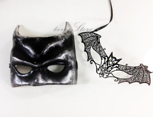 Halloween Mask Set - Batman Costume Masquerade Masks - Bestselling Batman (Handmade Batman Costume)