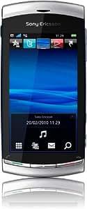 "Sony Ericsson Vivaz - Móvil libre (pantalla táctil de 3,2"" 360 x 640, 75 MB de capacidad, procesador de 780 MHz, S.O. Symbian) color plata [importado de Alemania]"