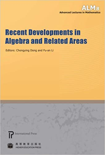 Recent Developments in Algebra and Related Areas (volume 8