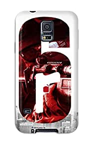 1004378K86576213 Tpu Phone Case With Fashionable Look For Galaxy S5 - Rainbow 6 Patriots