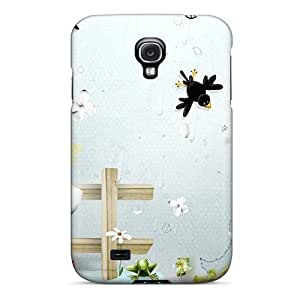 Galaxy S4 ZkxxJfH3648RIcNN Rain Wind Tpu Silicone Gel Case Cover. Fits Galaxy S4