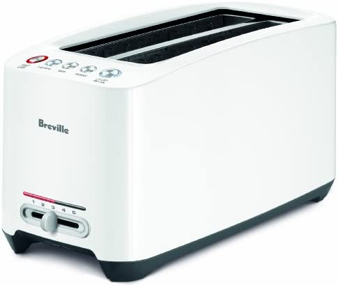 Breville BTA630XL Lift and Look Touch Toaster,White