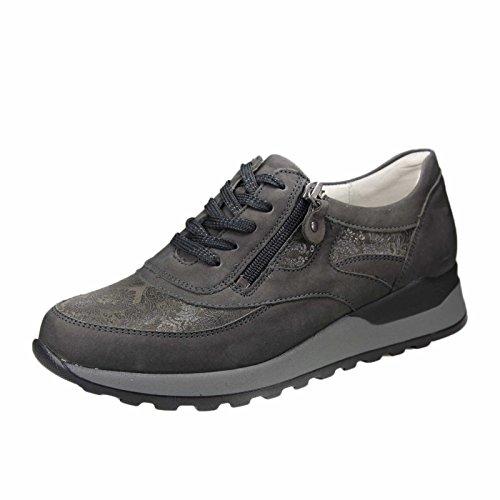 36 Femme Ville À Gris Chaussures Eu Pour Waldläufer Lacets De Gris gP4AZccWz