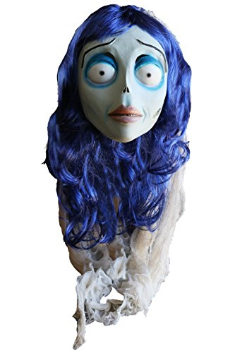 Trick or Treat Studios unisex-adult The Corpse Bride Adult Emily Mask Standard (The Corpse Bride Emily)