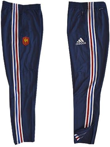 adidas Performance Pantalon TRG France Rugby FFR Bleu X54379