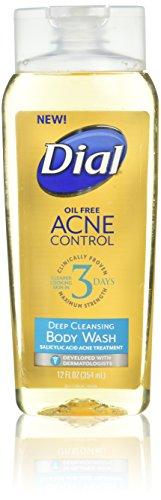 Dial Acne Control Deep Cleansing Body Wash, 12 fl oz