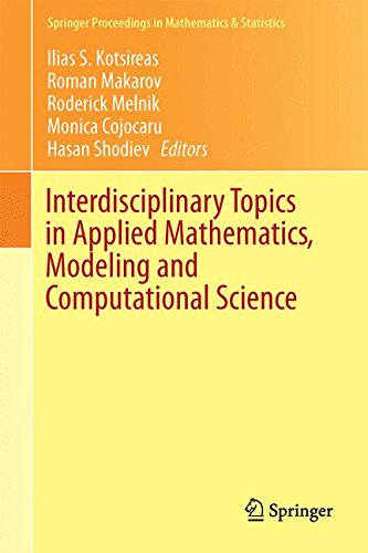 Interdisciplinary Topics in Applied Mathematics, Modeling and Computational Science (Springer Proceedings in Mathematics & Statistics)