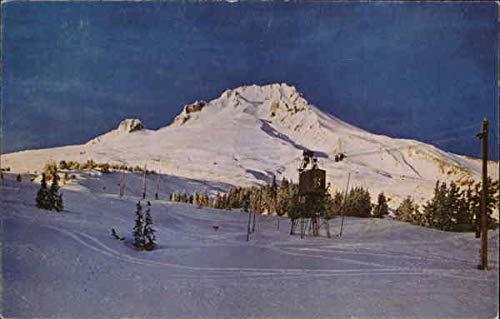 Ski Tow at Timberline Lodge Timberline Lodge, Oregon Original Vintage Postcard